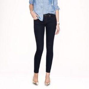 J.Crew tall skinny jeans black - 27 tall